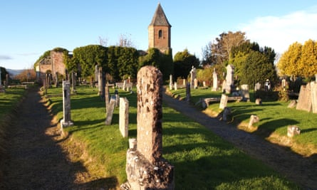 Cromarty graveyard in the Highlands where many Scottish slave owners are buried