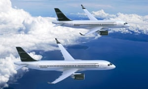 The wings for Bombardier's C-Series jets are made in Belfast.