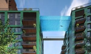 Sky Pool at Embassy Gardens