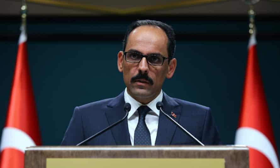 İbrahim Kalın, Turkey's presidential spokesman