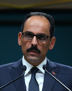Turkish presidential spokesman İbrahim Kalın.