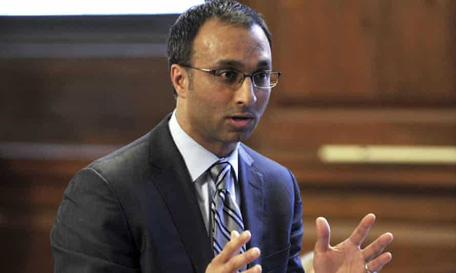 The district judge Amit Mehta, pictured in 2012, was selected to hear the case against Google.