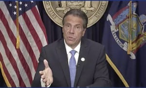 Andrew Cuomo announces he will resign.