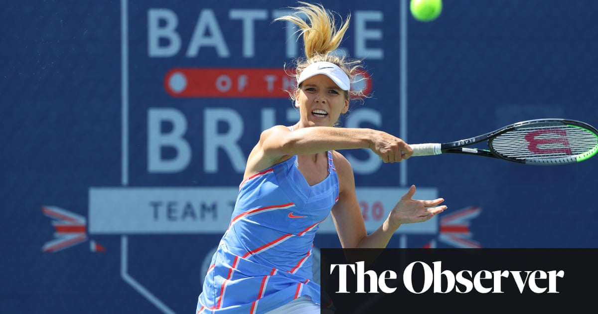 Katie Boulter bounces back at Battle of the Brits but new doubts shroud Madrid