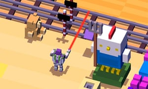 A detail from tie-in game Disney Crossy Road.