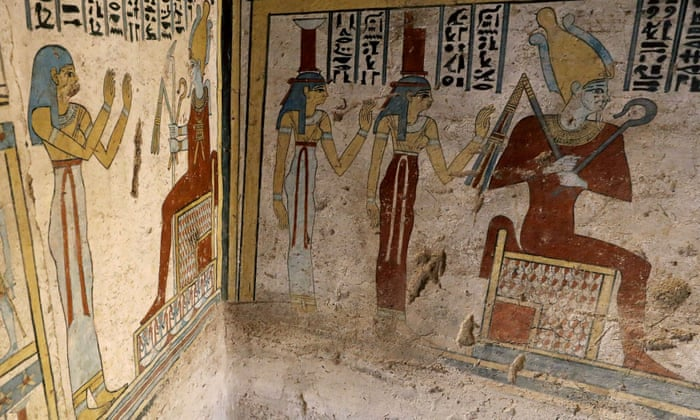 Mummified mice found in'beautiful, colourful' Egyptian tomb - image on https://alldesingideas.com