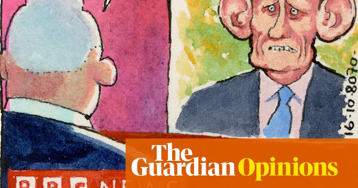 Steve Bell's If ... on the BBC: no news from the Brexit tunnel