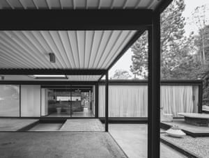 Pierre Koenig: Bailey House, (Case Study House #21) Los Angeles, CA, USA, 1958