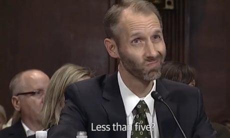 Matthew Petersen has no business wearing judge's robes