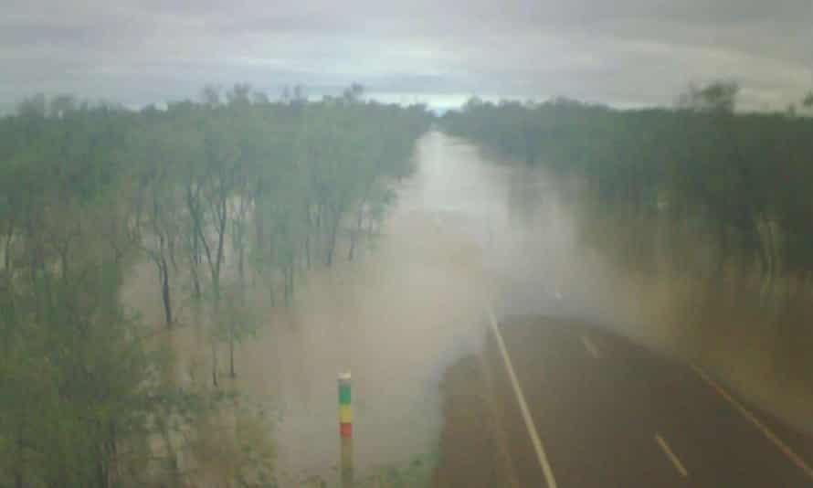 Flooding in Walkers Creek
