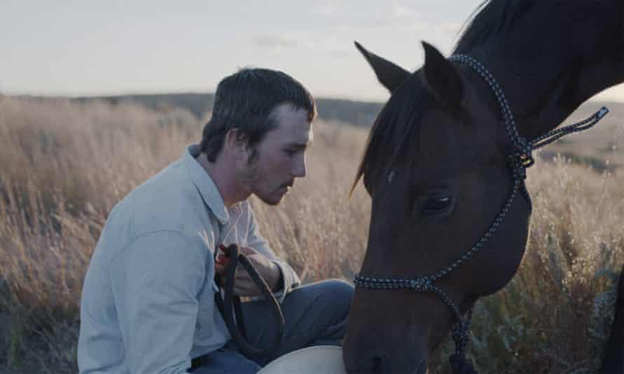 No self-pity, no tragic grandstanding … Brady Jandreau in The Rider
