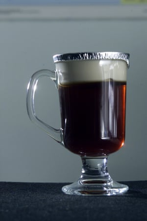 Irish Coffee for microwaving.
