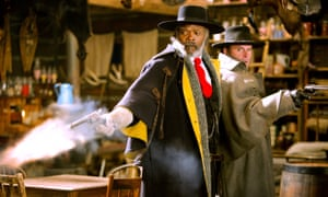 Samuel L Jackson in The Hateful Eight.