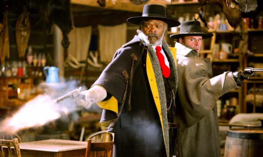 Samuel L Jackson in The Hateful Eight.