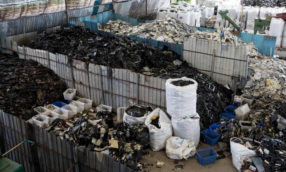 Thailand has experienced a dramatic rise in e-waste since China banned imports in January.