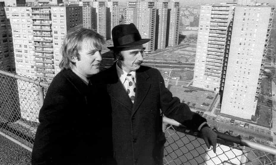 Donald Trump and his father, Fred, in Brooklyn, 1975