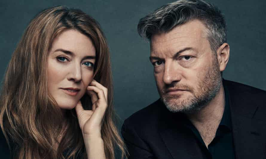 Very funny ... Annabel Jones and Charlie Brooker.