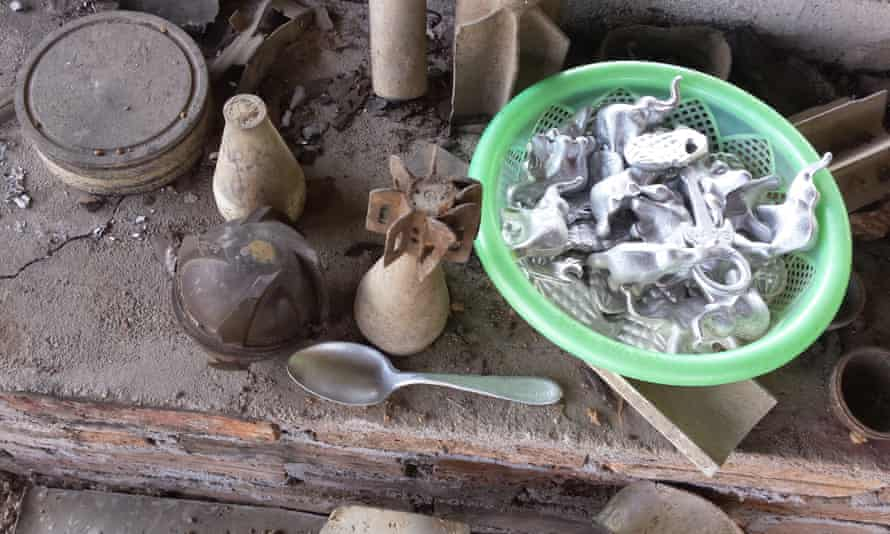 Ban Napia is known as the 'war spoon village' in Laos's Xiang Khoang province, as locals make cutlery out of unexploded ordnance.