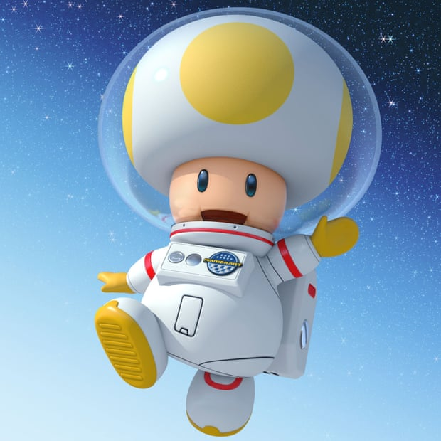 Not so super Mario … an artist's impression of Little Donald. — Illustration: Nintendo.