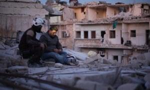 Unflinching film-making … Last Men in Aleppo