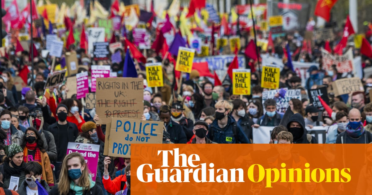 What do we want? The right to noisy protests. When do we want it? Now!