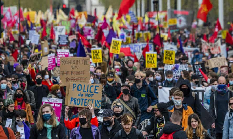 Is the home secretary looking to change our culture of joyful, peaceful protest into an angry, blazing one?