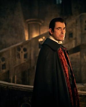 Dracula, with Claes Bang.