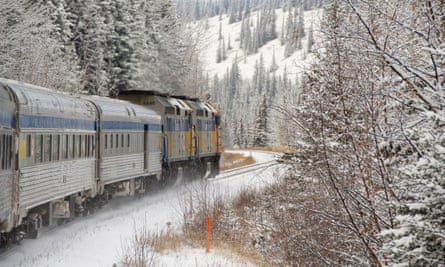 Skeena train, Canada