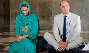 The Duke And Duchess Of Cambridge in Pakistan in November.