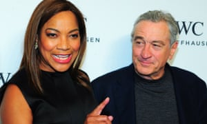 Robert De Niro and his wife Grace Hightower. The actor has bowed to pressure to withdraw the anti-vaccination film directed by disgraced British doctor Andrew Wakefield.