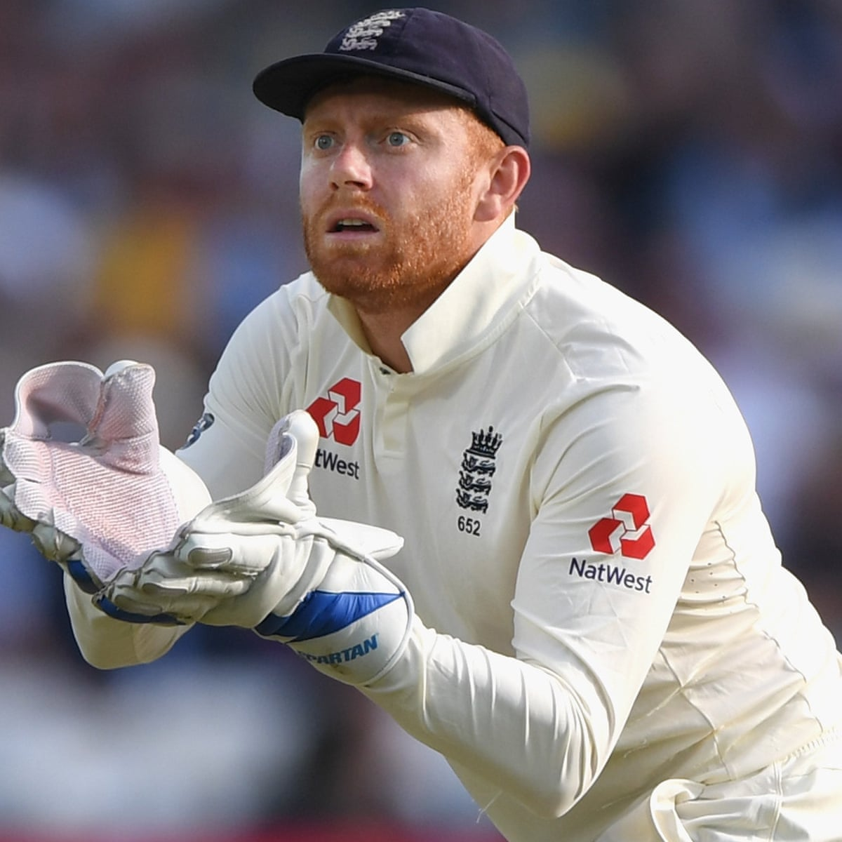 Jonny Bairstow still eager to regain gloves as England Test wicketkeeper |  England cricket team | The Guardian