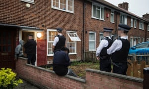 Police carry out searches in Lewisham