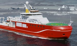 The NERC polar research ship will set off for the Antarctic in 2019 under a yet-to-be-chosen name.