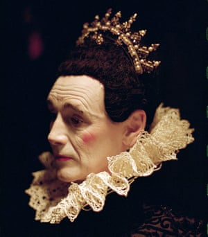 Mark Rylance as Countess Olivia at the Belasco theatre, New York, in 2013.