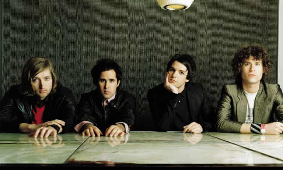 The Killers in 2004