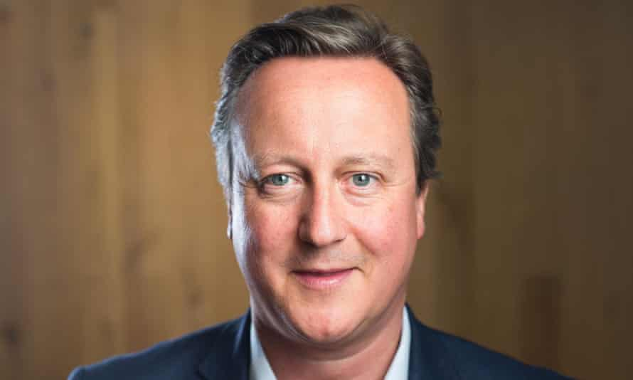 David Cameron, the former prime minister.