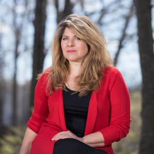 Naomi Wolf, photographed last week in Stony Brook, NY