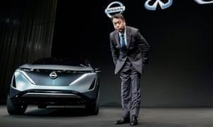 Nissan's chief executive, Makoto Uchida.