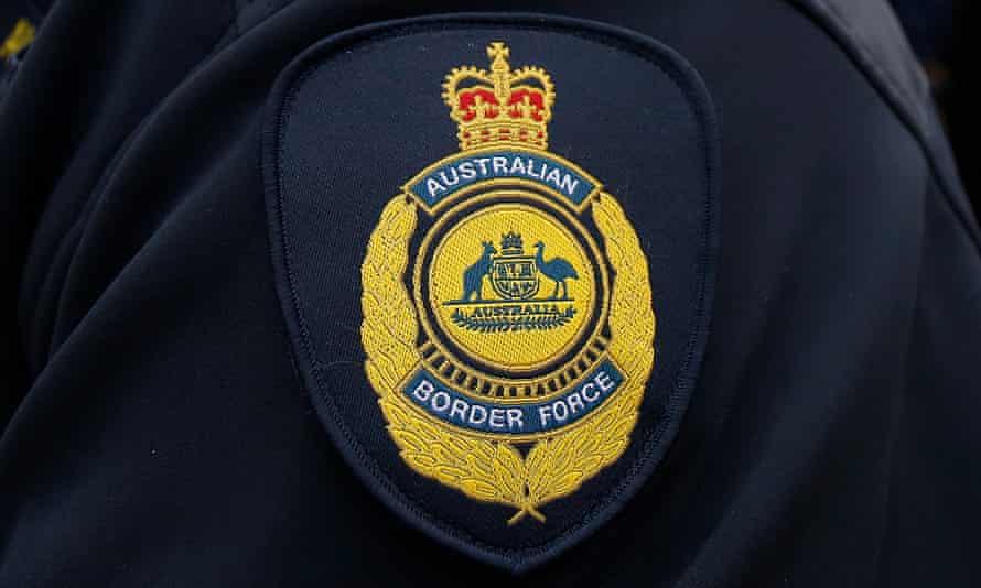 Australian border force badge