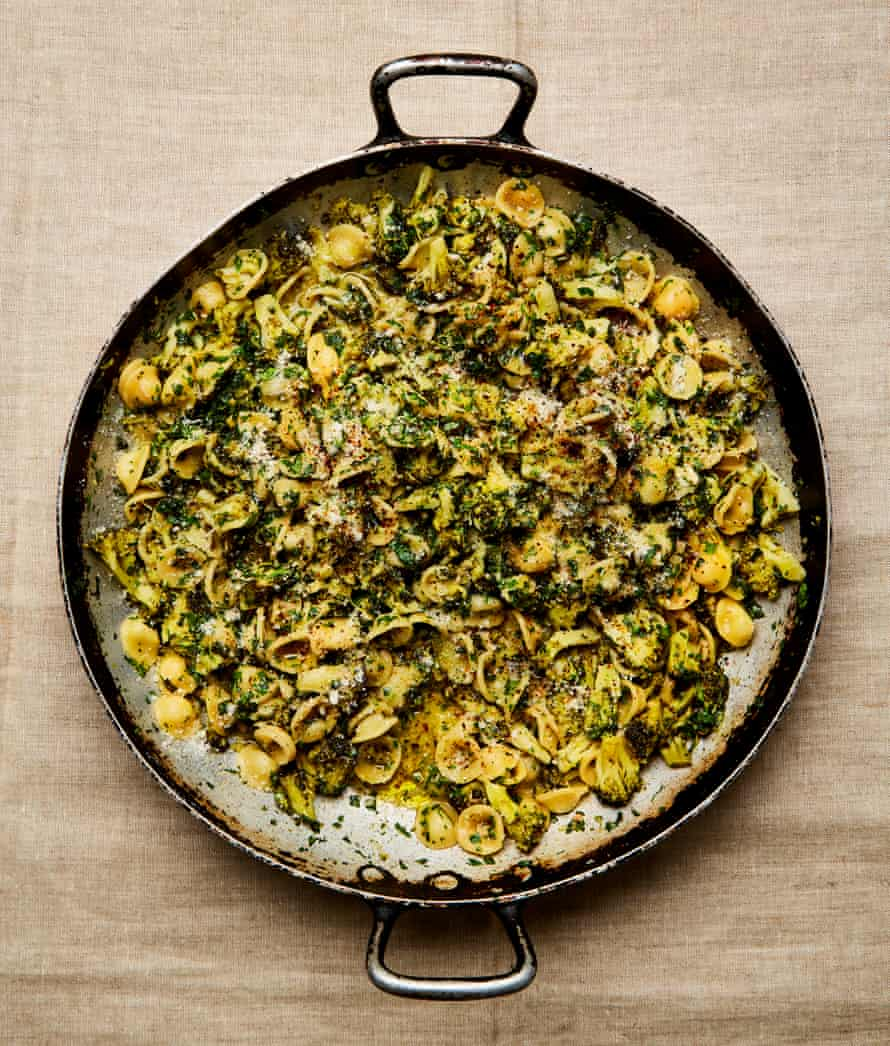 Yotam Ottolenghi Orecchiette with broccoli and rocket