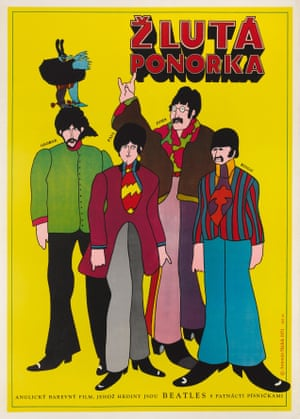 Antonin Sadek: Yellow Submarine, Czechoslovakian, 1968This artwork was used on two different size posters for the Czechoslovakian release of the filmEstimate: £1,600 - £2,400