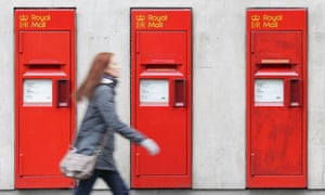 Royal Mail reported a 1% rise in revenue but pre-tax profits fell from £116m to £110m.