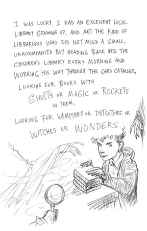 Page eight of Neil Gaiman and Chris Riddell's book Art Matters. ART MATTERS by Neil Gaiman, illustrated by Chris Riddell is published by Headline on 6th September