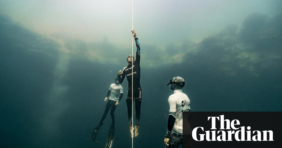 Freediving World Record Set By William Trubridge With 122m