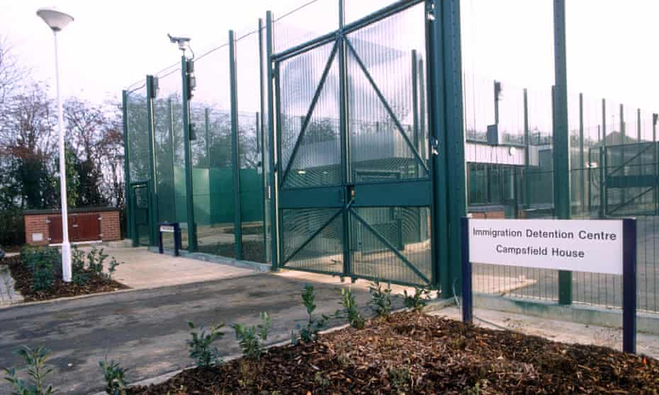 Campsfield House immigration removal centre in Oxfordshire