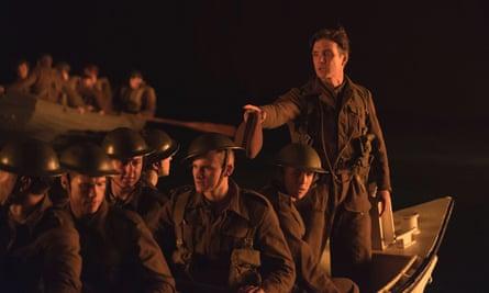 Cillian Murphy in Dunkirk.
