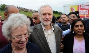 Jeremy Corbyn in Bradford
