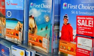 Thomson and First Choice holiday brochures