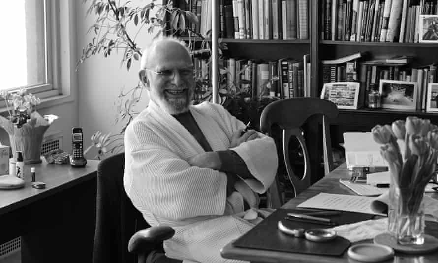 At home with Oliver Sacks.