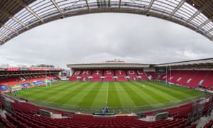Ashton Gate, home of Bristol Bears, has the facilities for multiple teams for any restart of the Premiership in early July.